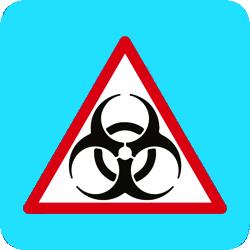 SAFENERGY Biologic hazard pictogram